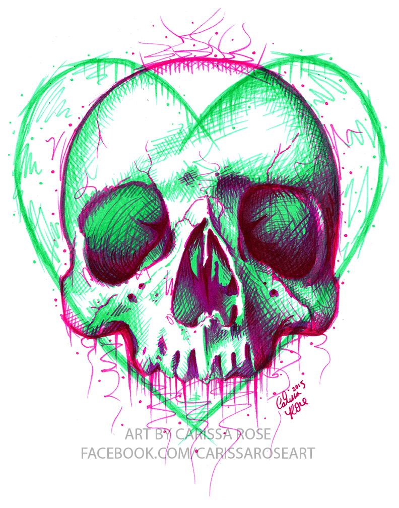 Neon Death III by misscarissarose