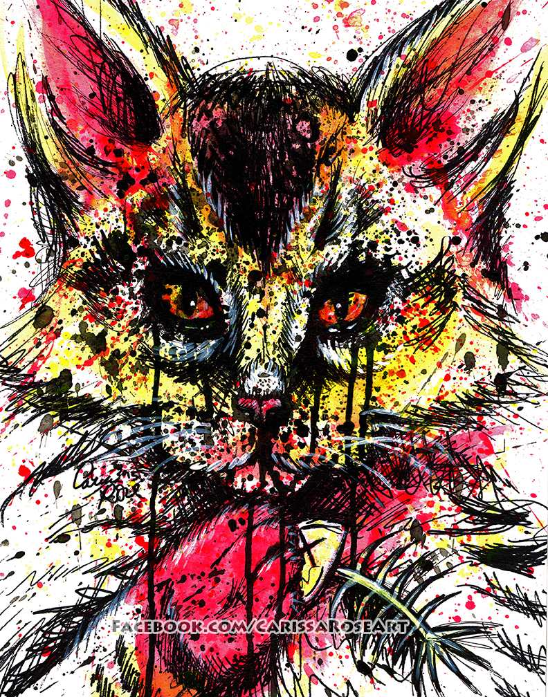 Bad Kitty by misscarissarose
