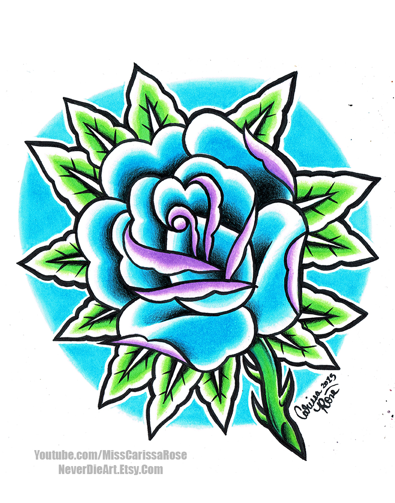 Rose Tattoo by misscarissarose
