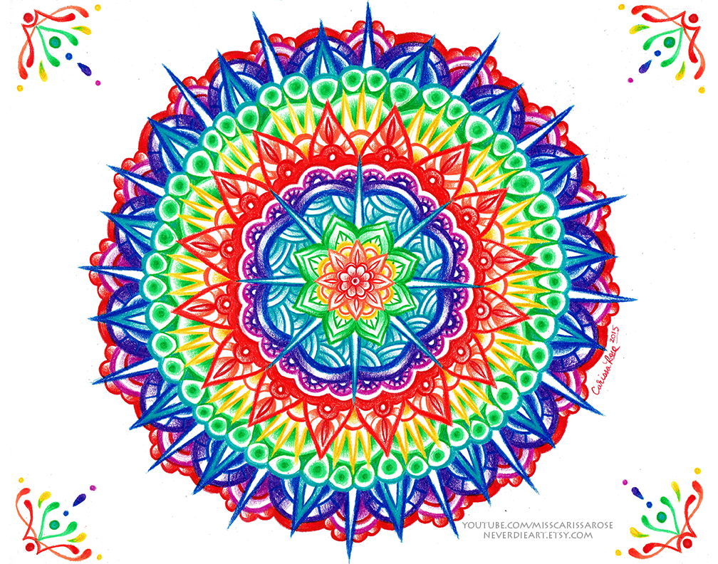 Mandala by misscarissarose