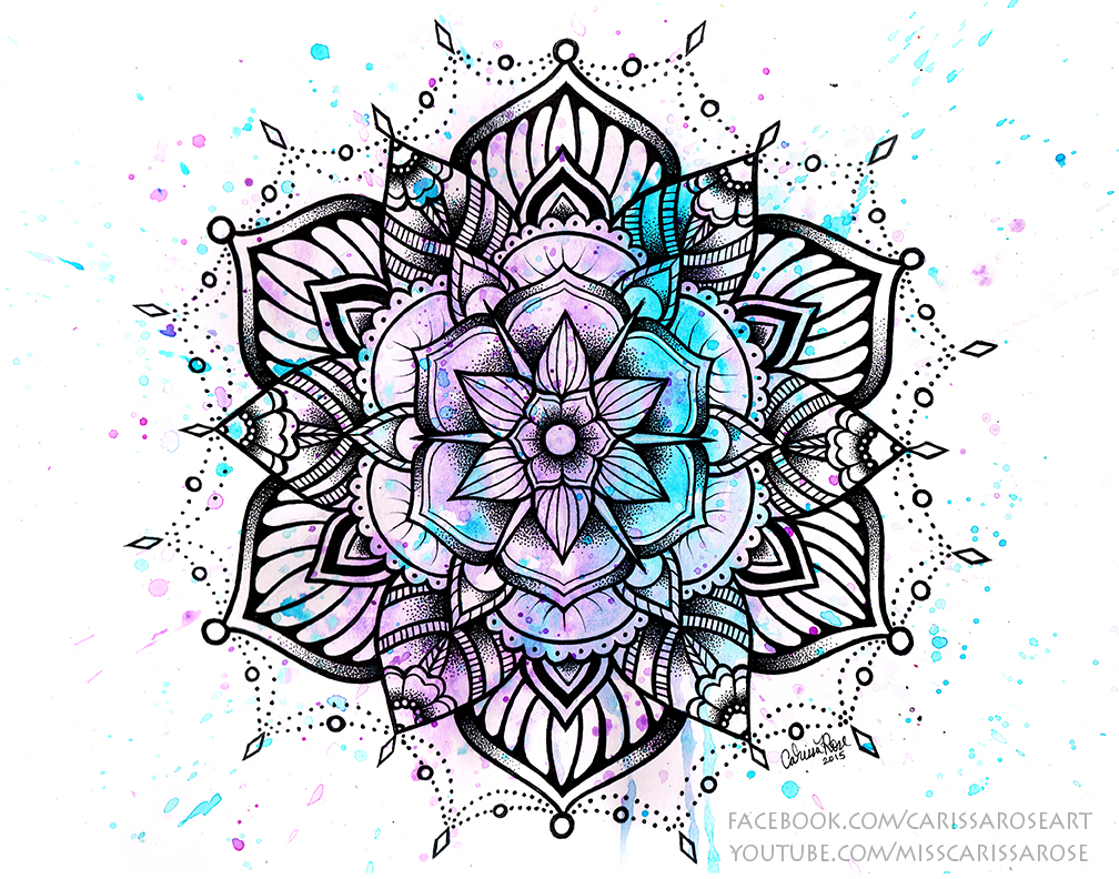 Mandala II by misscarissarose