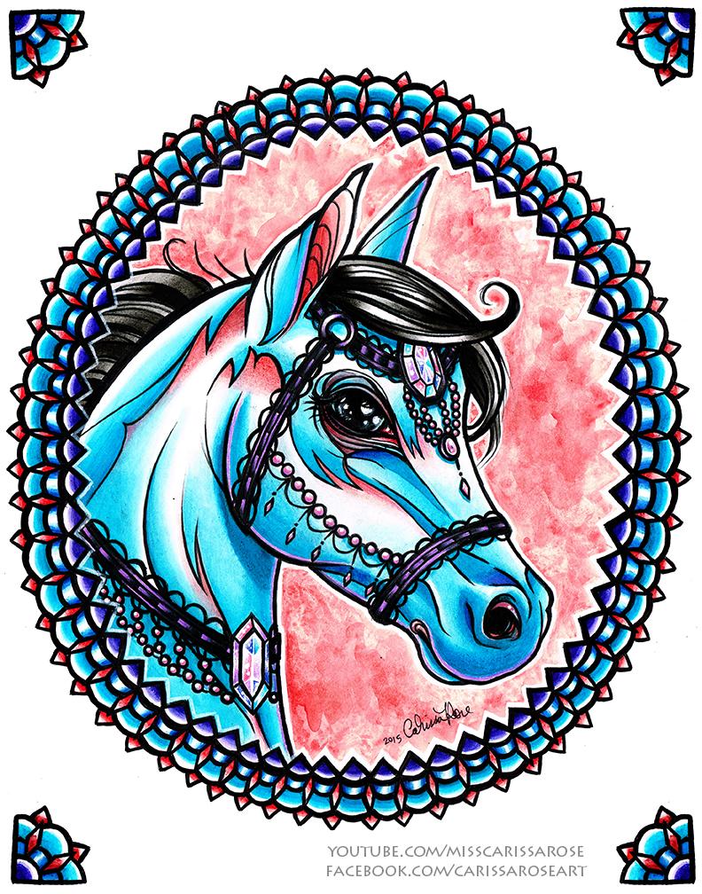 Horse by misscarissarose