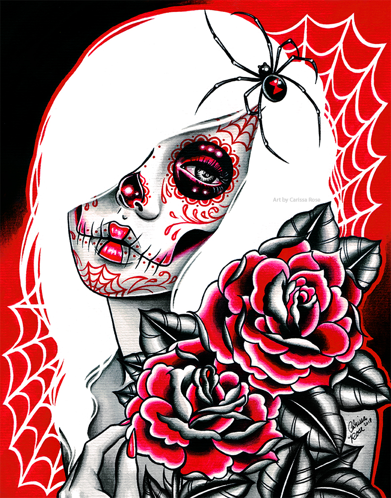 Black Widow by misscarissarose