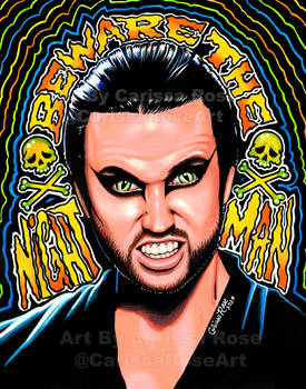 Beware The Nightman 11x14 Web
