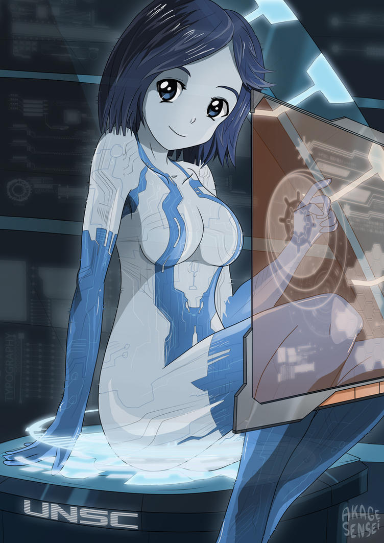 Cortana nu erotic film