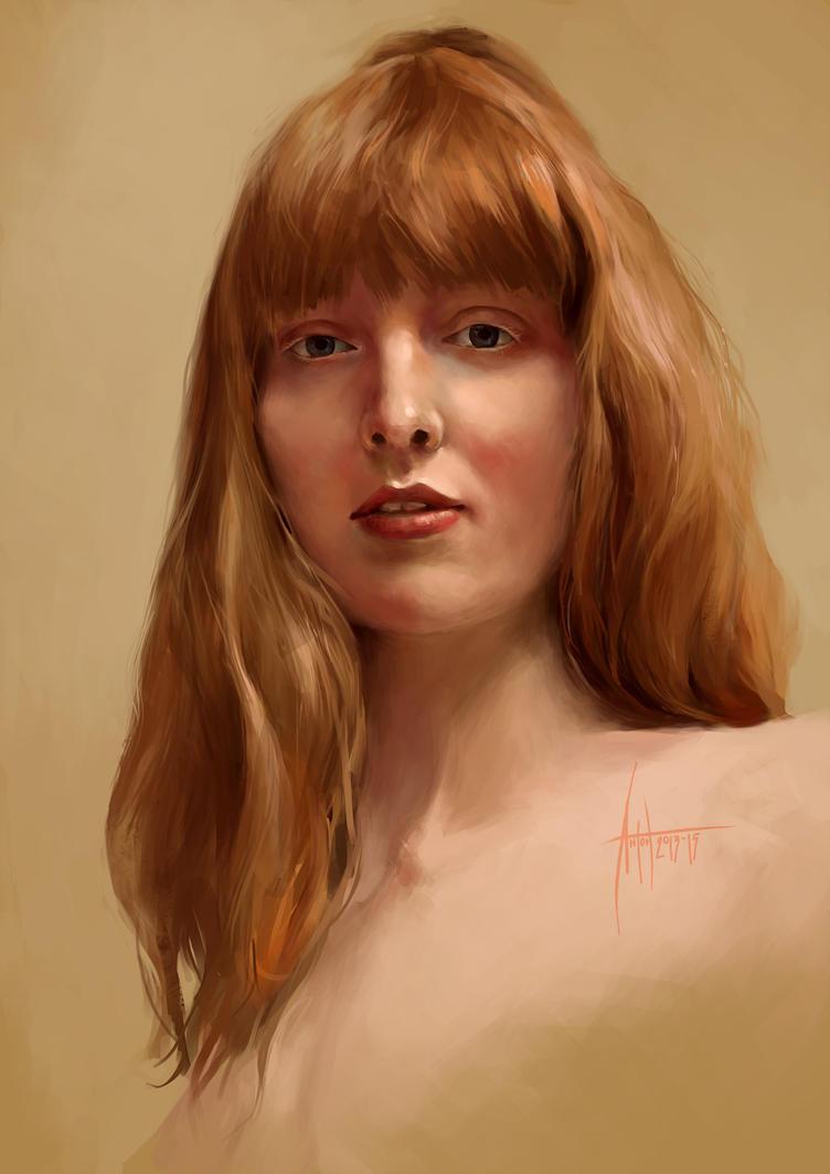 Anton Phoenix - Study portrait by antonphoenix