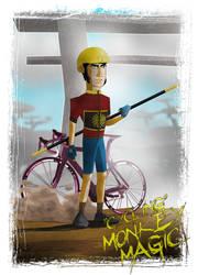 Cycling Monkey Magic by darrich72