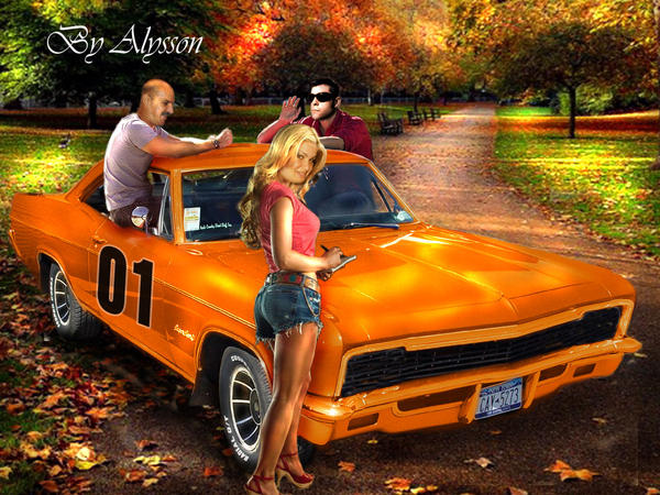 the dukes of hazzard by superalysson on deviantart