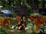 Lara in Trouble...