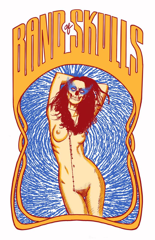 Band of Skulls Poster by Blissternal