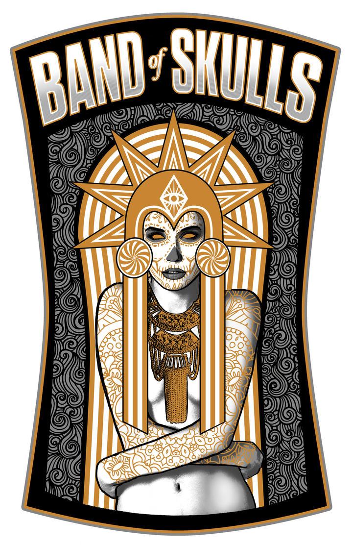 Band of Skulls Poster 2 by Blissternal