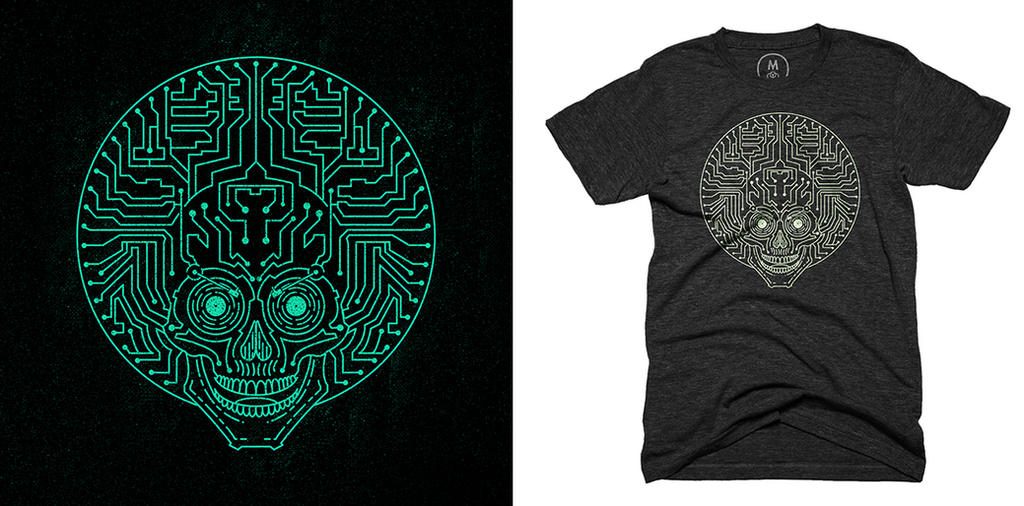 Neurofunk Express Sp3ktr Tshirt Design by sp3ktr