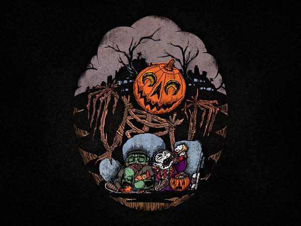 Halloween horror beware the pumpkin king by sp3ktr
