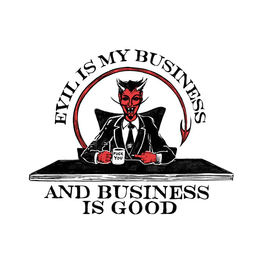 SP3KTR evil is my business by sp3ktr