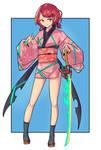 Homura ver.Kimono (Xenoblade Chronicles 2)