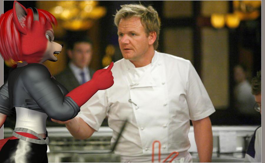 Hell Kitchen Chef Ramsay Vs Joseph The Marine