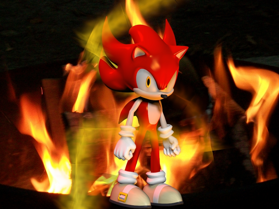 Fire Sonic Returns Smbz Fanart By Rachidile On Deviantart