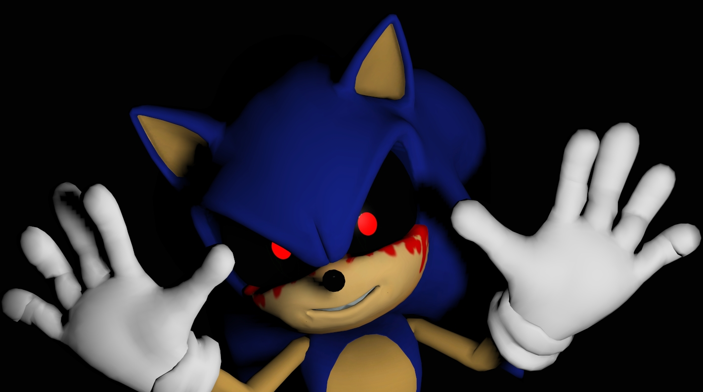 Kids Play With Sonic Exe Toys And Super Sonic Exe Toys: Sonic.exe By Rachidna On DeviantArt