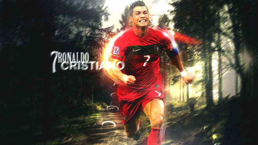 Cristiano Ronaldo7 by exetril on DeviantArt