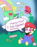 Mario ate Magic Mushrooms...