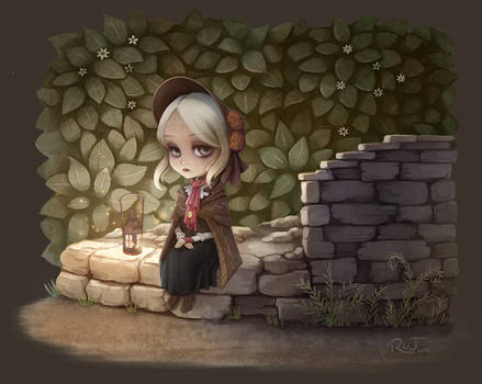 Bloodborne doll in chibi mode