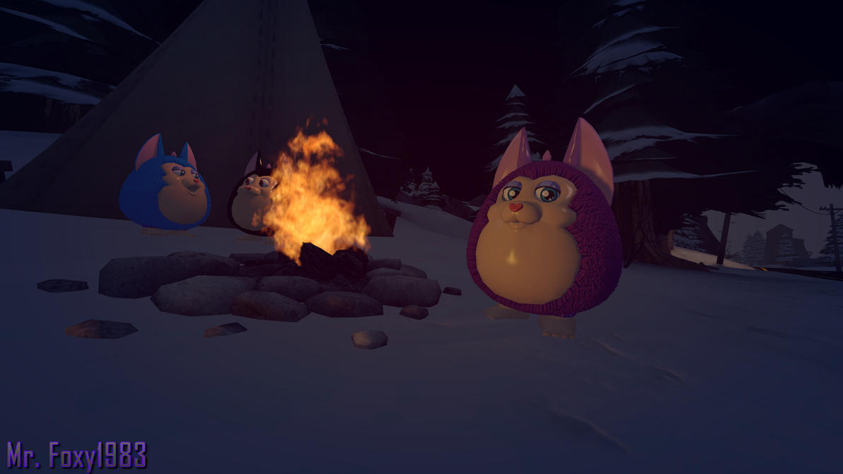 [SFM/Tattletail] -Tattletails Camping by the Fire- by MrFoxy1983