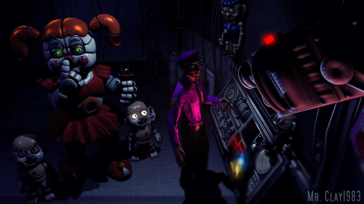 [SFM/FNAF] ...Isn't She Supposed to be on Stage? by MrClay1983