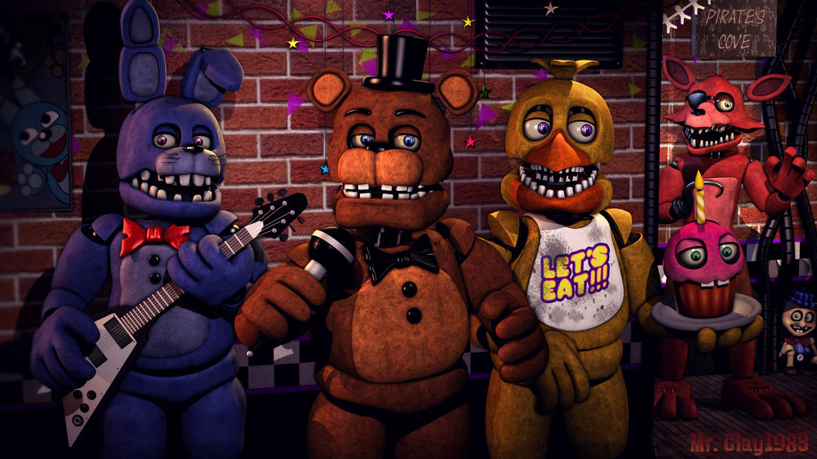[SFM/FNAF/Poster] Original Crew Poster 1-23-19 by MrClay1983