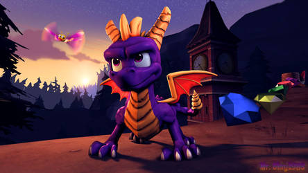 [SFM/Spyro:RT/Poster] A Reignited Adventure