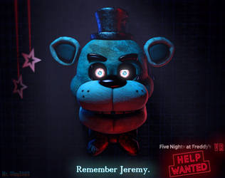 [SFM/FNAF: Help Wanted/Poster] Remember Jeremy. by MrClay1983