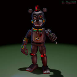 [Blender/FNAF] Retro Lefty