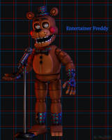 [Blender/FNAF] Entertainer Freddy Fazbear