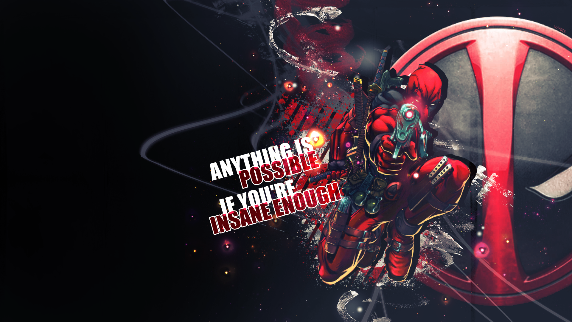Deadpool wallpaper 1920x1080 by AnnVanes on DeviantArt