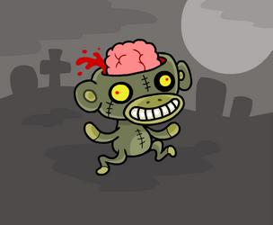 Zombie monkey by scythemantis