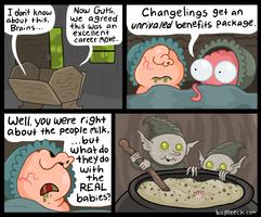 Changelings by scythemantis