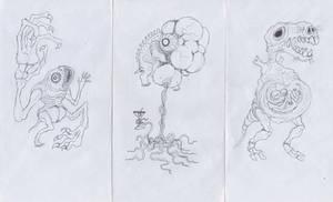 Envelope monsters 2 by scythemantis