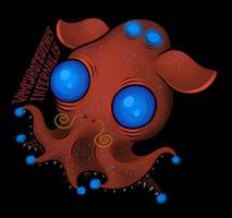 Vampyroteuthis Infernalis by scythemantis