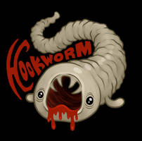 Hookworm by scythemantis