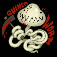 Guinea Worm by scythemantis