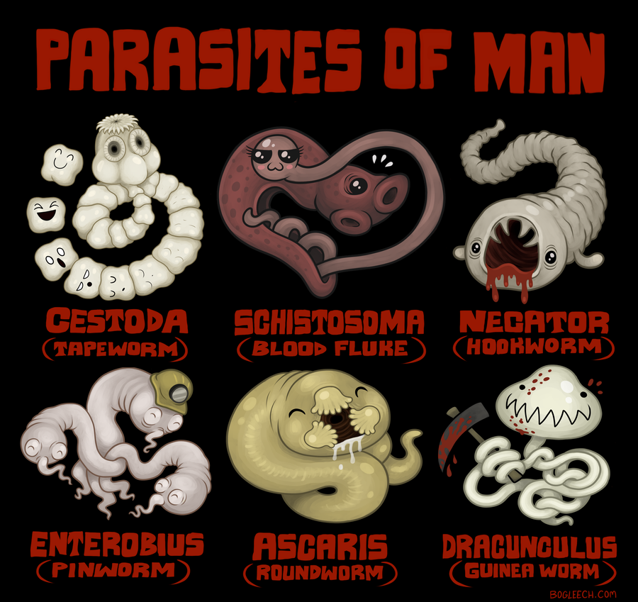 Parasites Of Man By Scythemantis On Deviantart