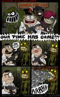 Zombie Fans 2 by scythemantis