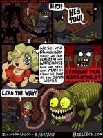 Zombie Fans 3 by scythemantis