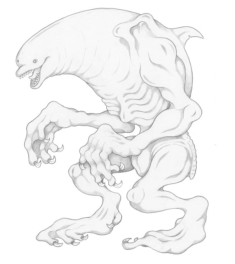 Mortasheen - Dolfury by scythemantis