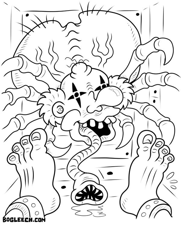 ahh real monsters coloring pages - photo#27
