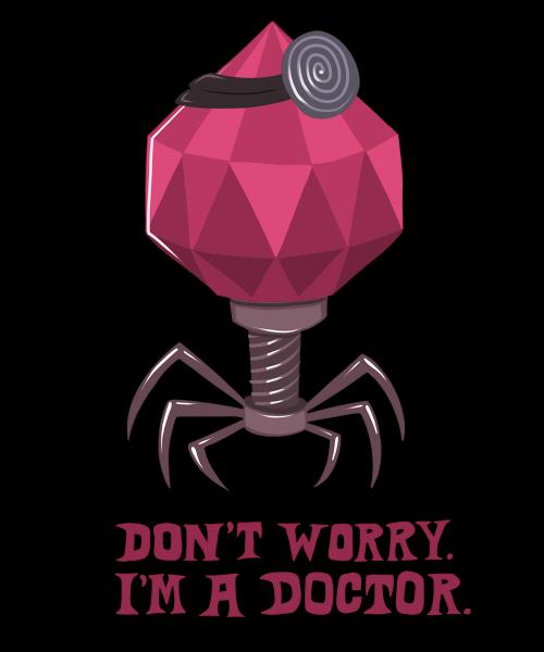 Virus doctor shirt design by scythemantis