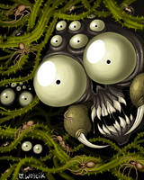 Mortasheen - Crawling Forest by scythemantis