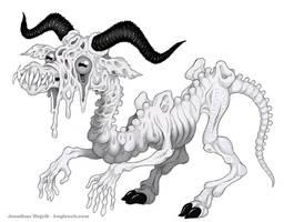 Mortasheen - Belphegoyle by scythemantis
