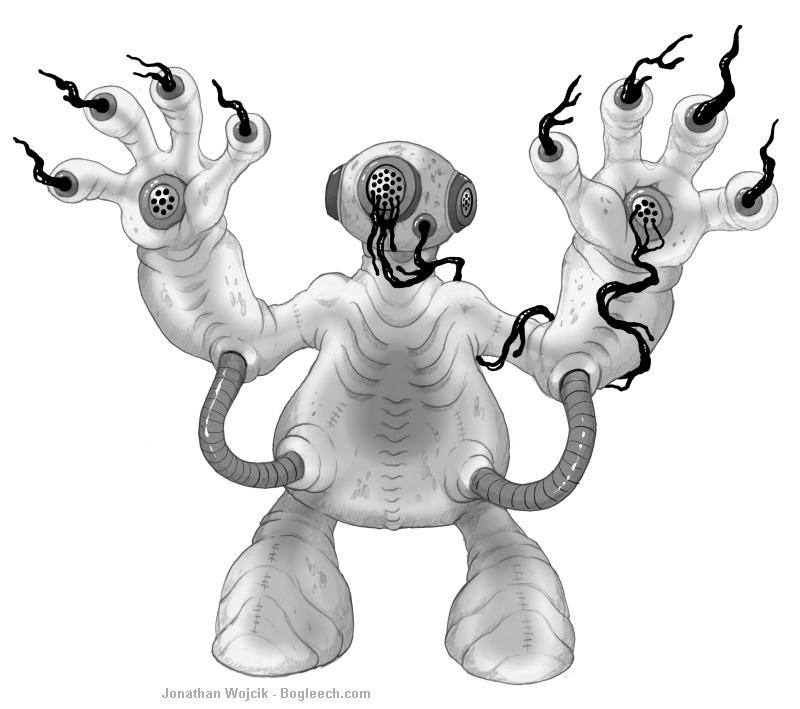 Mortasheen - Oozonaut by scythemantis
