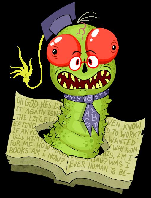 Professor Lexicovermus by scythemantis