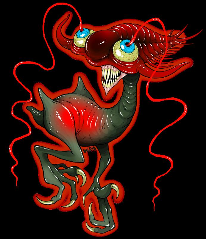 Eviscergeist by scythemantis